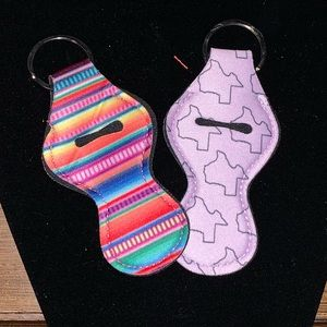 NWOT set of TWO chapstick keychains